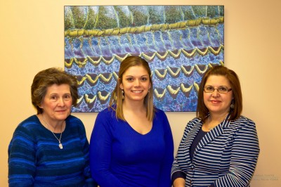 Nurse Practitioners: Ginnie, Heather, and Kathy